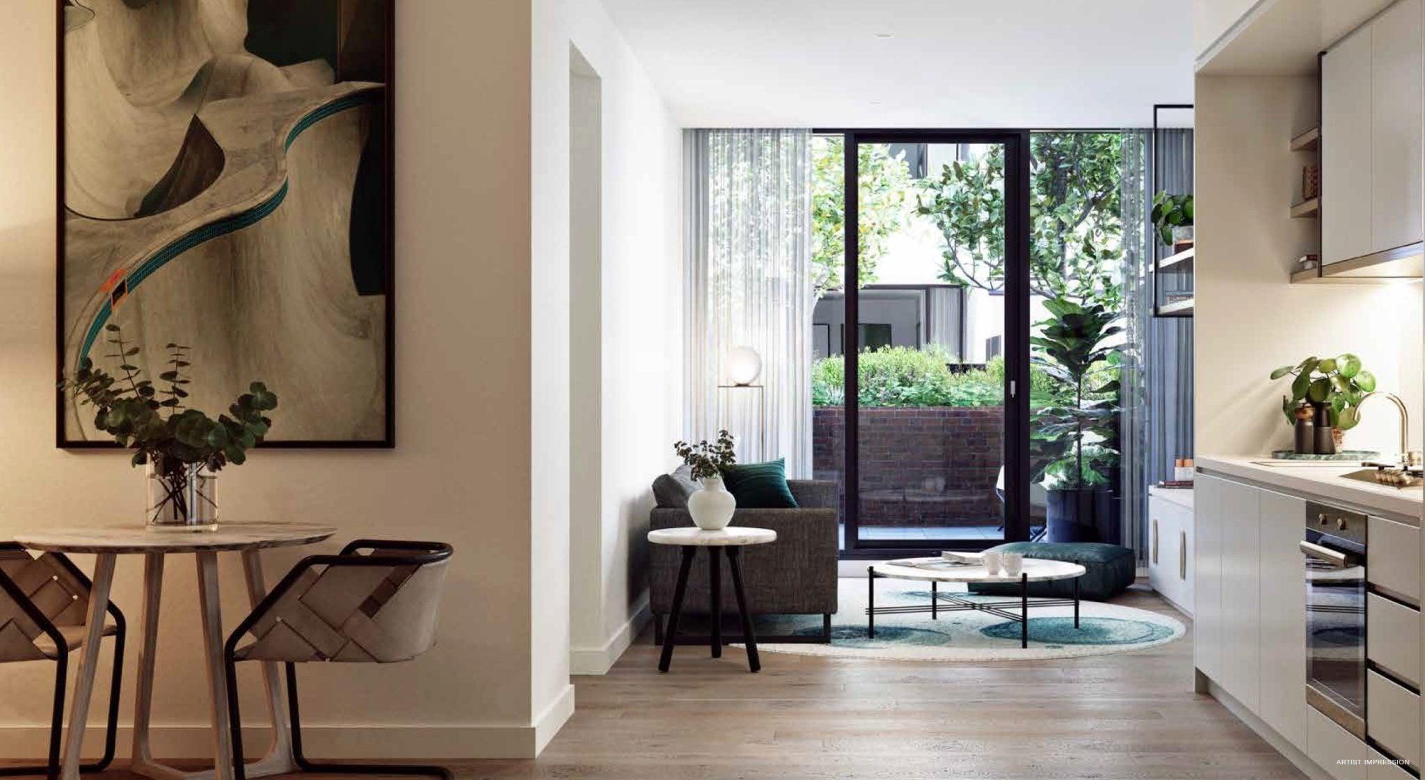 The Marker Melbourne-Living