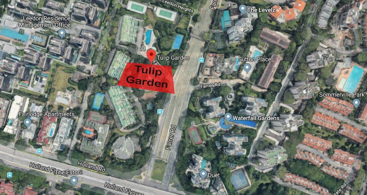tullip garden map