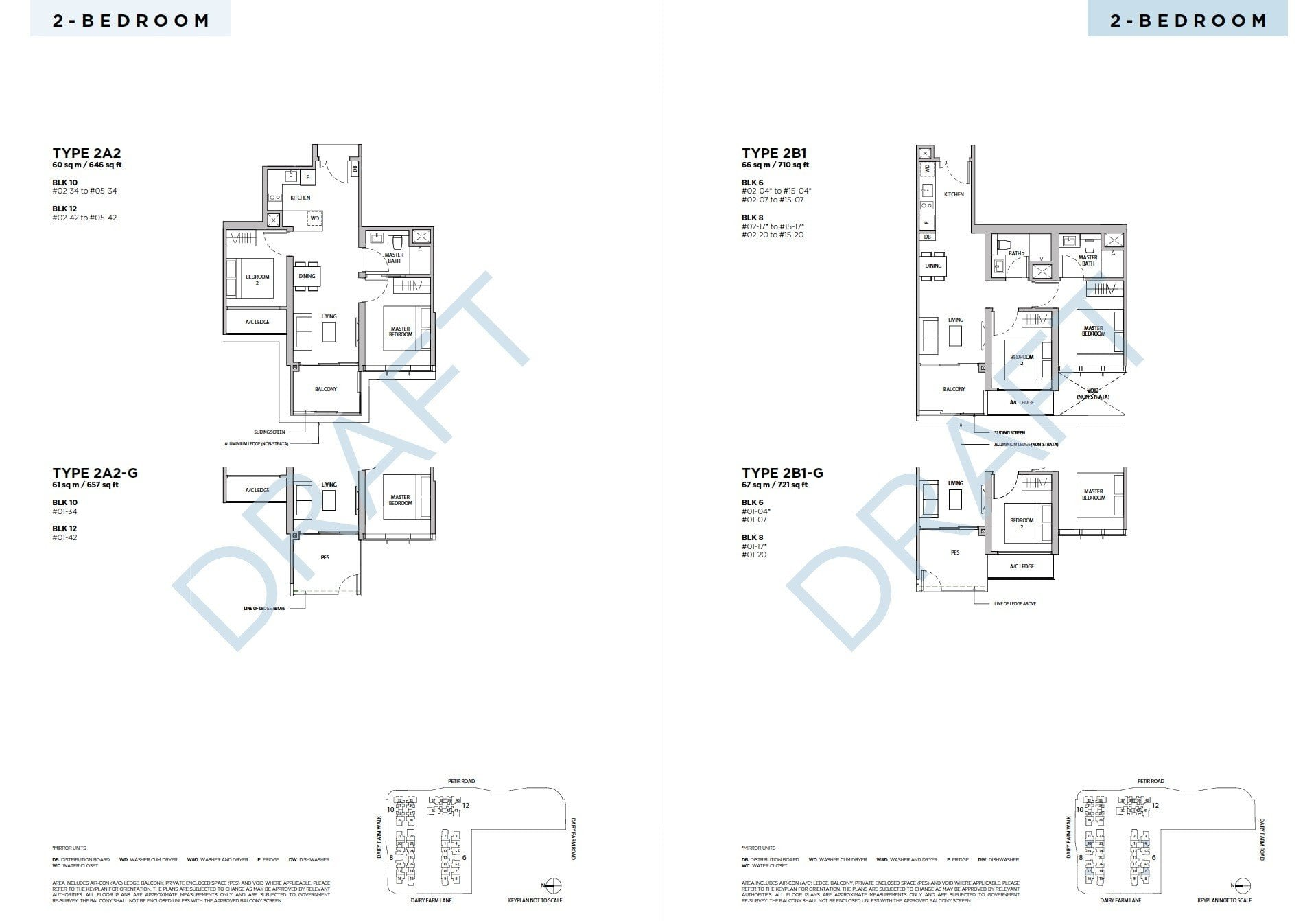 Dairy-Farm-Residences-Floor Plan 2BR -2