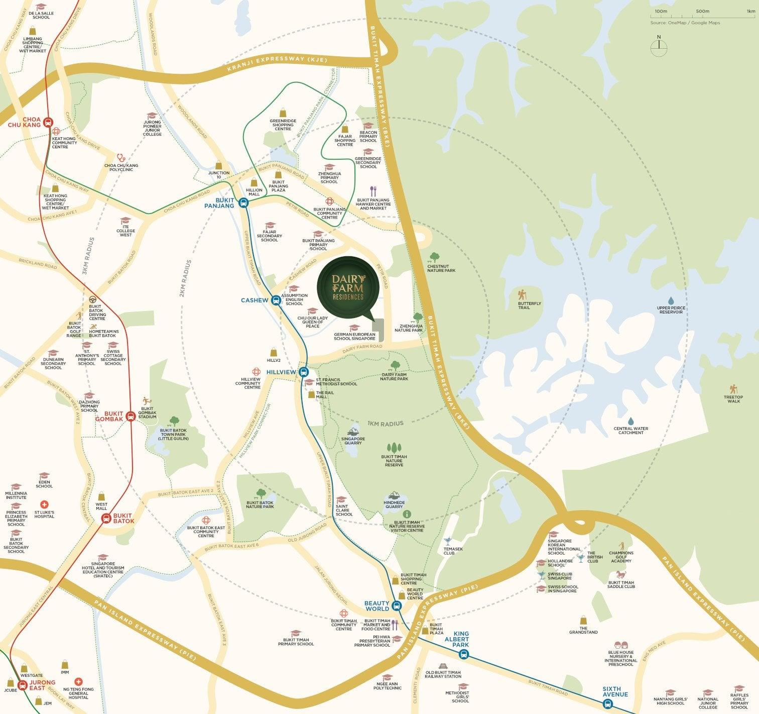 Dairy-Farm-Residences-Location-Map