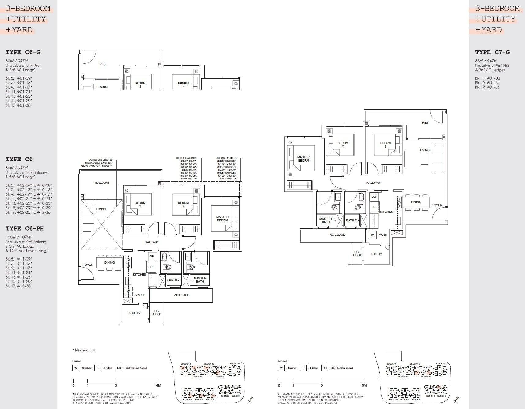 Parc Canberra floor plan floor plan 3BR-4