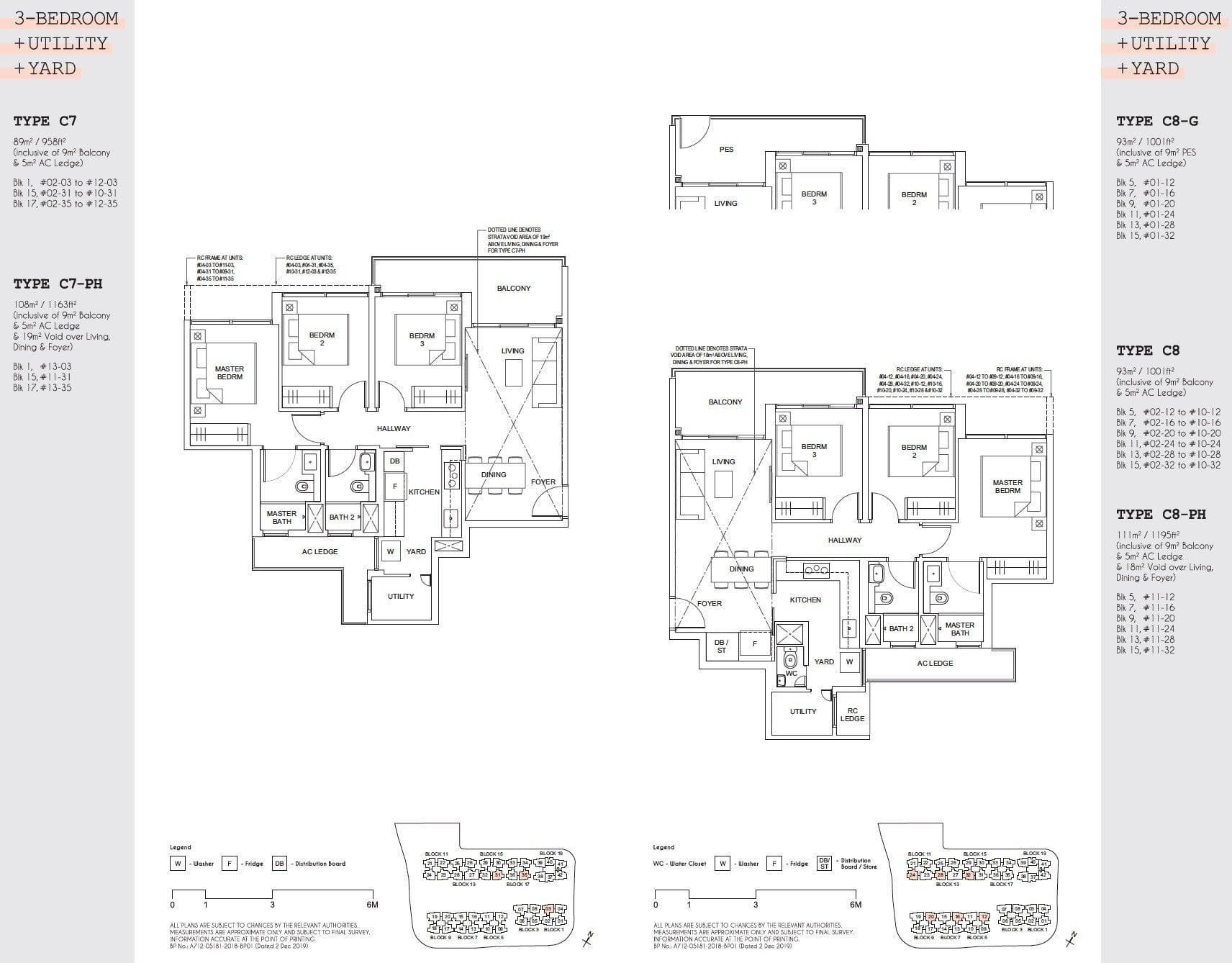 Parc Canberra floor plan floor plan 3BR-5