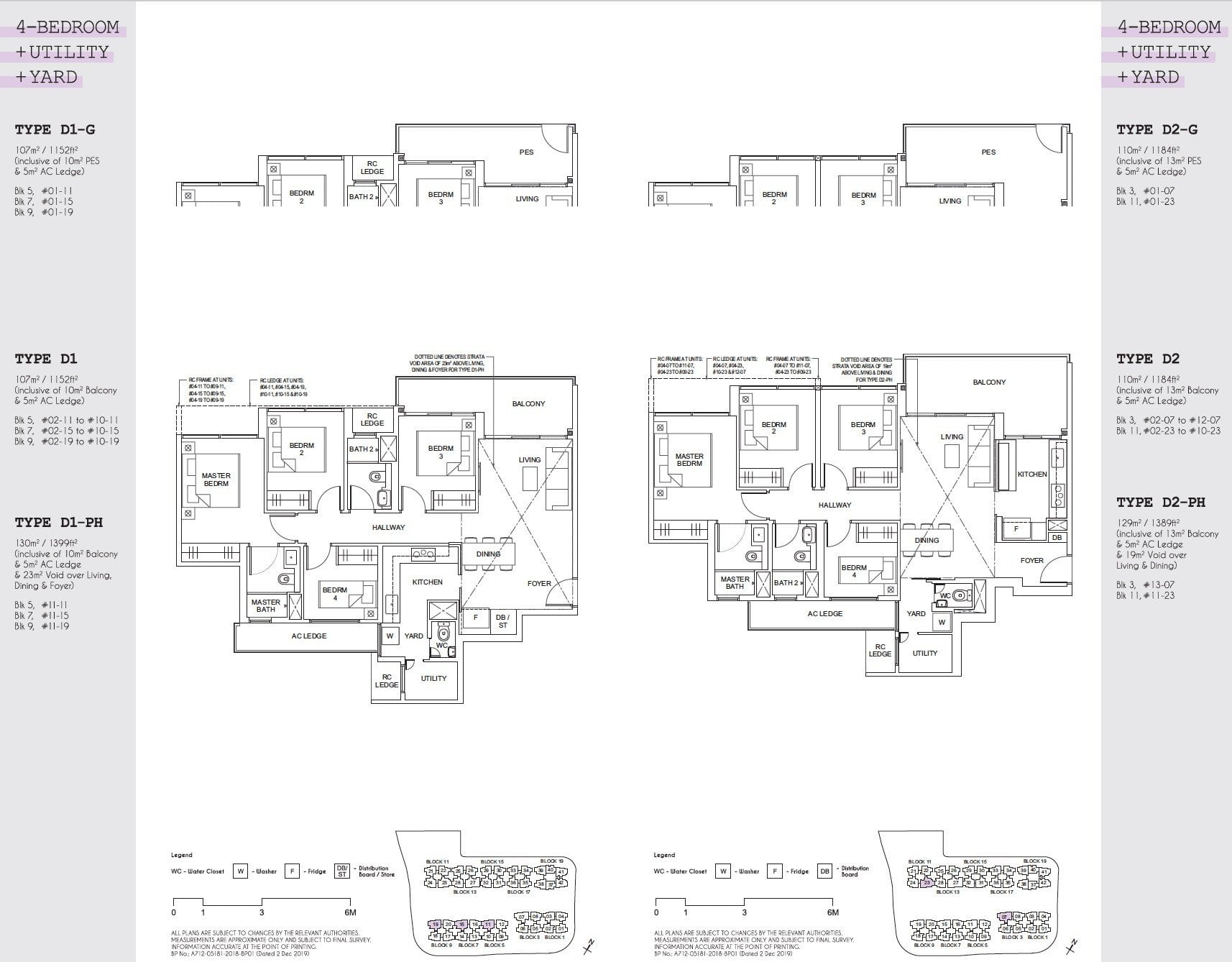 Parc Canberra floor plan floor plan 4BR-1