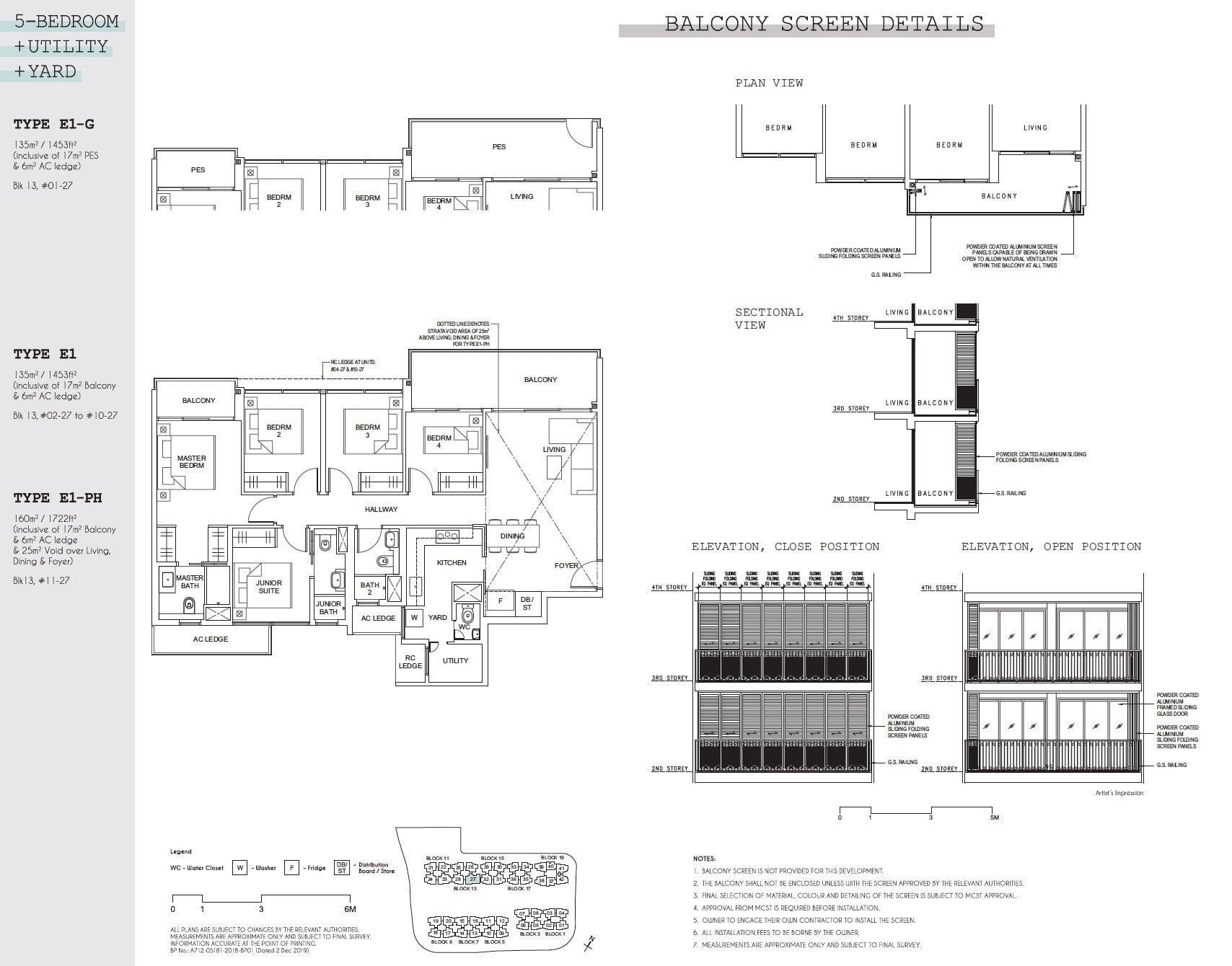 Parc Canberra floor plan floor plan 5BR