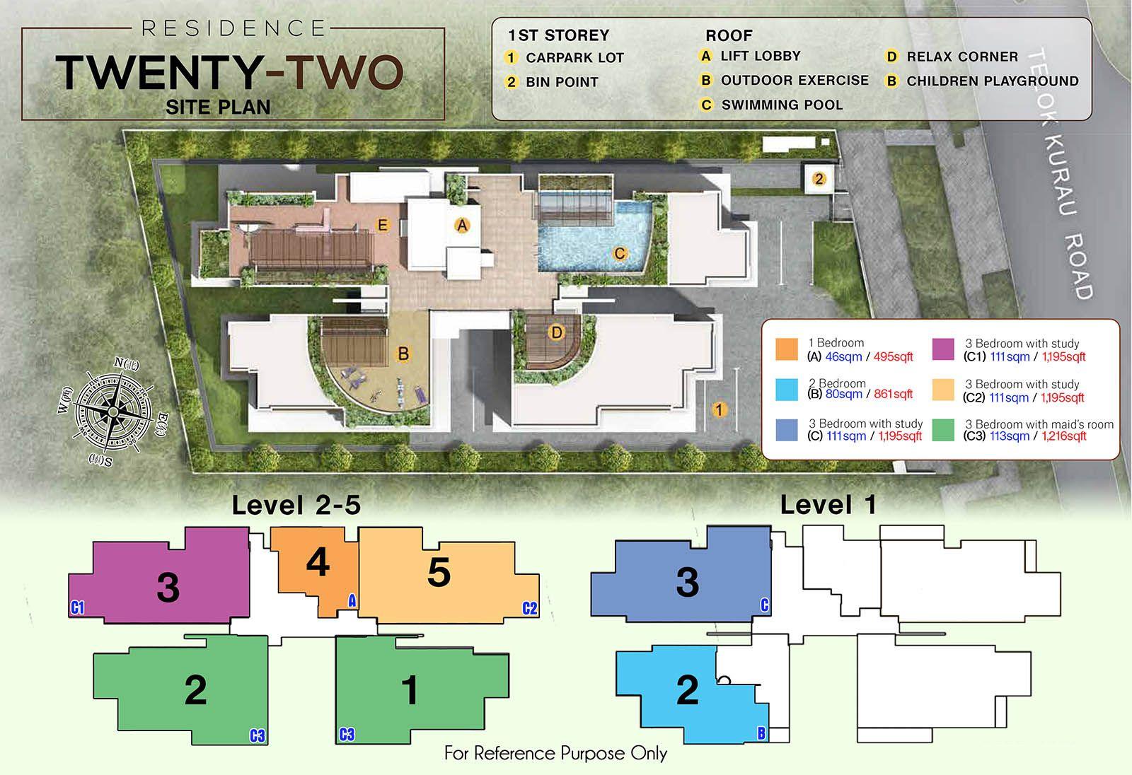Residence 22- Site plan