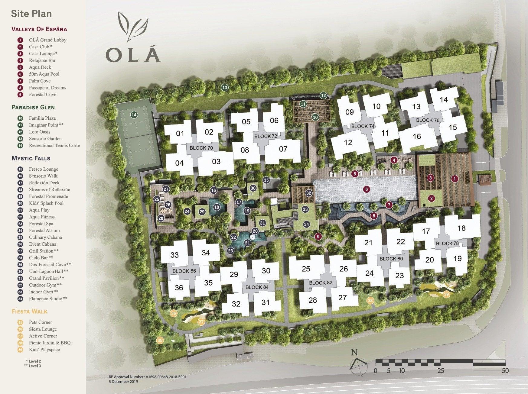 OLA site plan