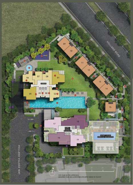 One Holland Village - Site Plan