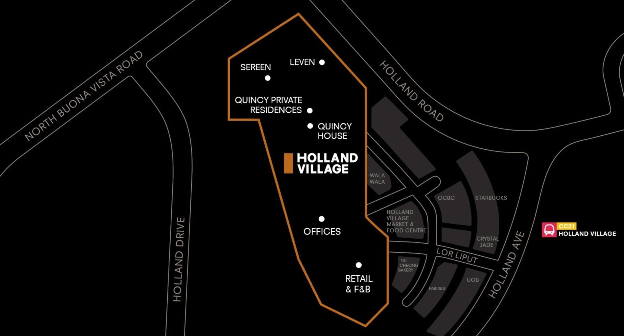 One Holland Village - location map