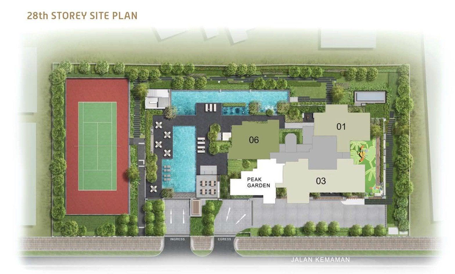Verticus-site plan 28
