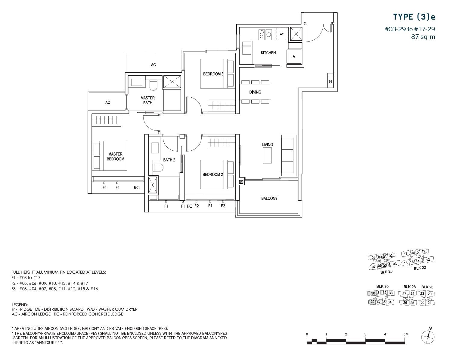 penrose-sims-floorplan 3BR-e