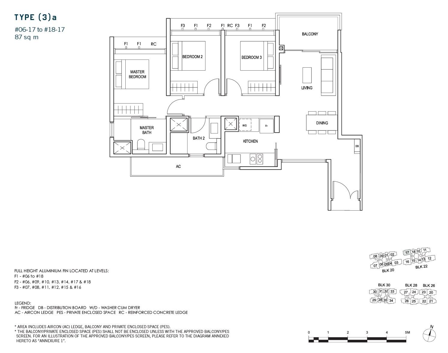 penrose-sims-floorplan 3BR