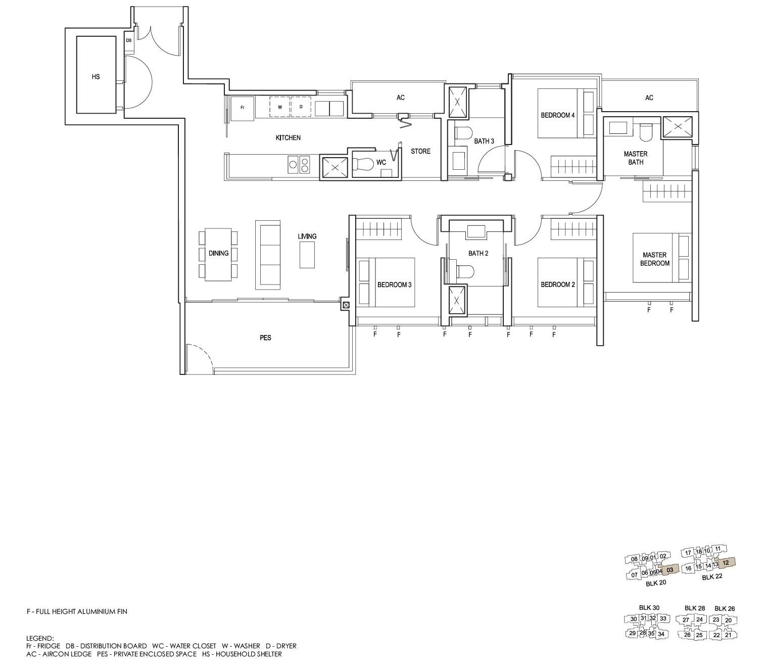 penrose-sims-floorplan 4BR