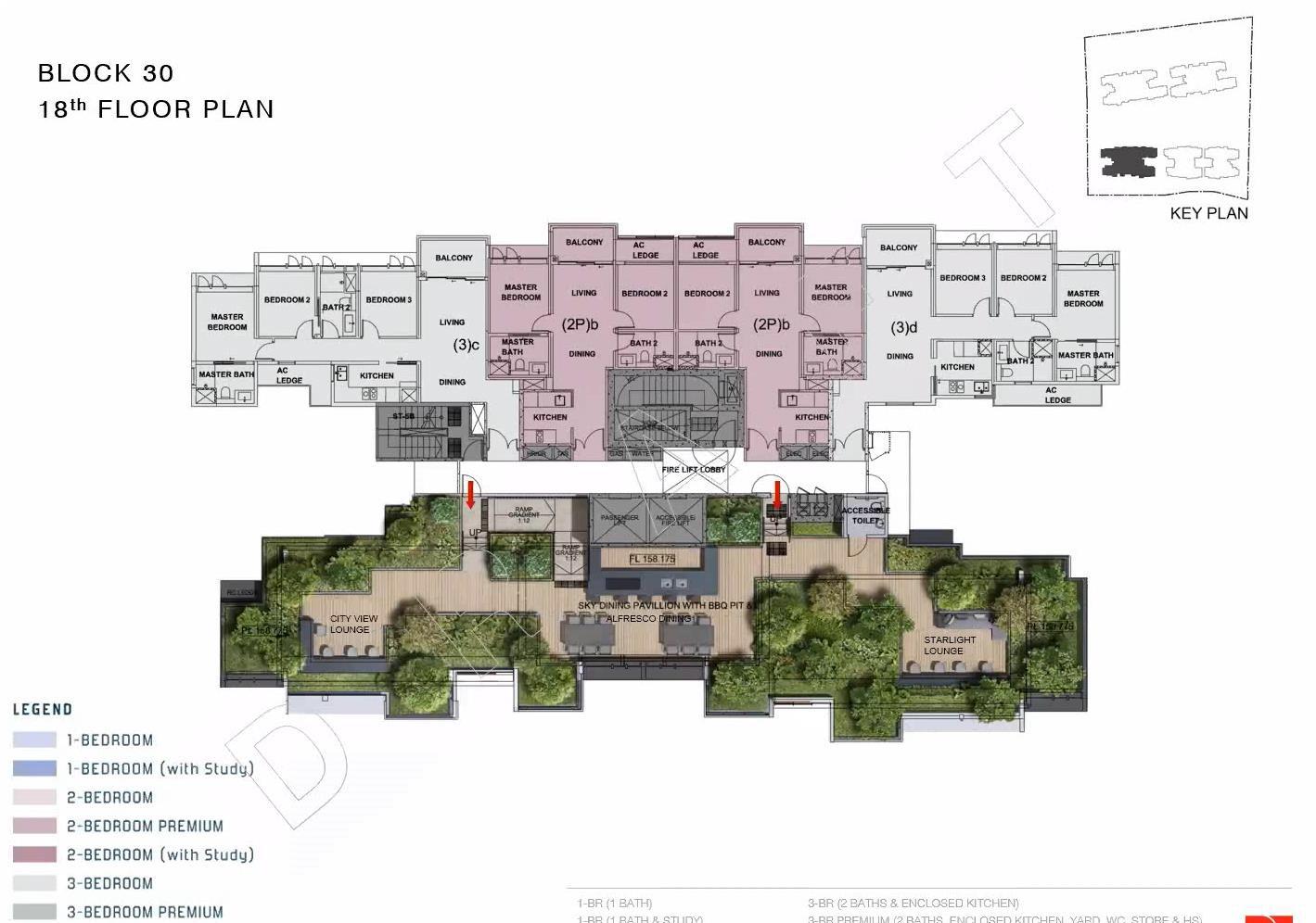 penrose-sims-site plan-Block30-18thfloor