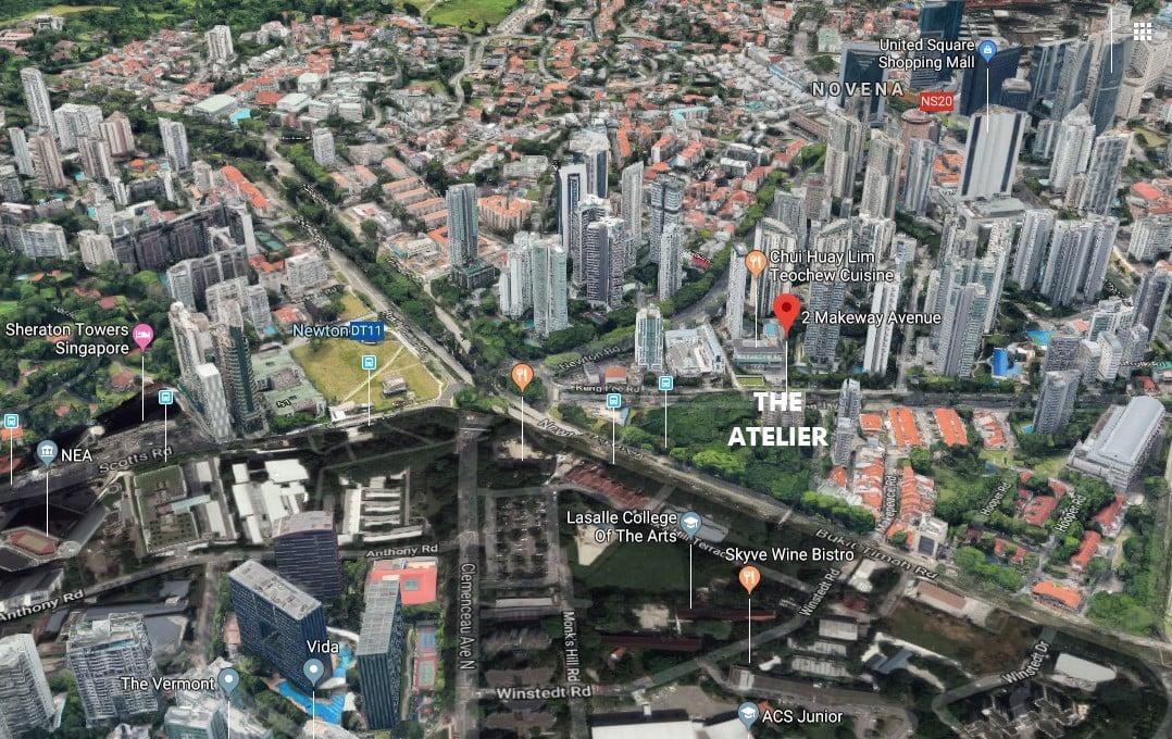 the-atelier-condo map google