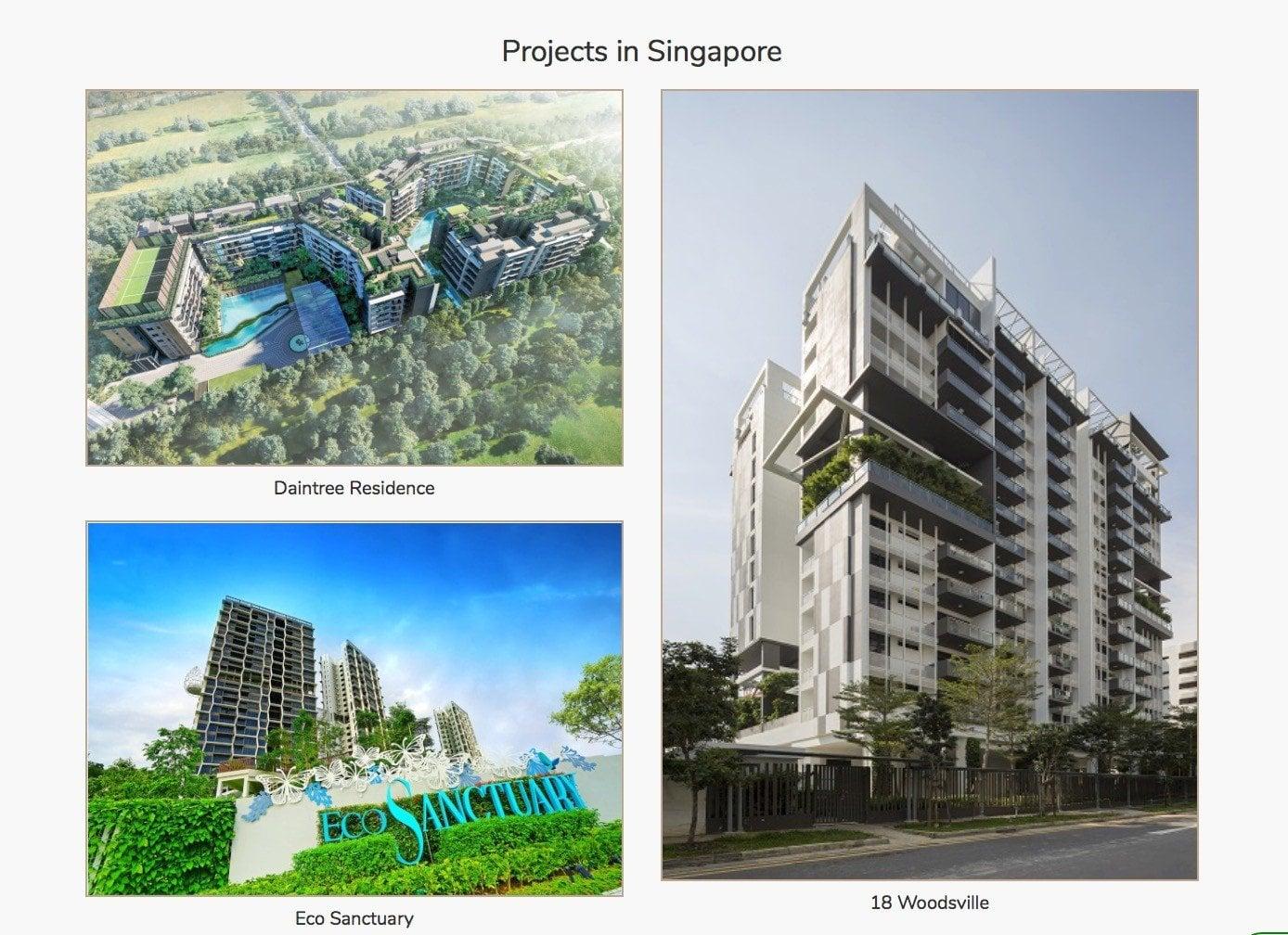 setia-track record in singapore