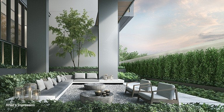 19 Nassim Condo Garden Lounge