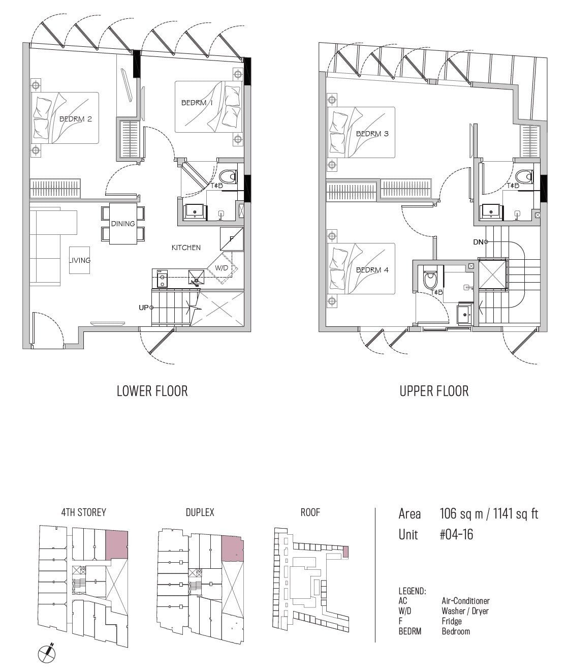 77 east coast floor plan 4BR