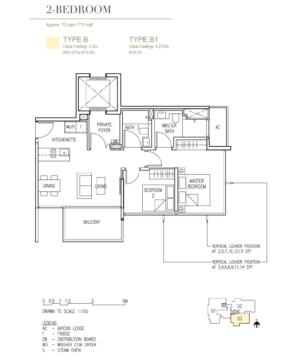 Cairnhill-16-Orchard Floor Plan Type B