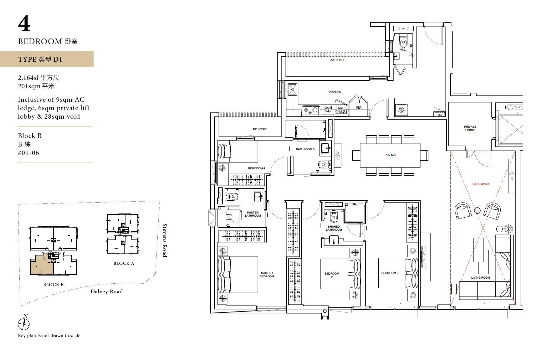 Davey Haus floor plan 4BR D1