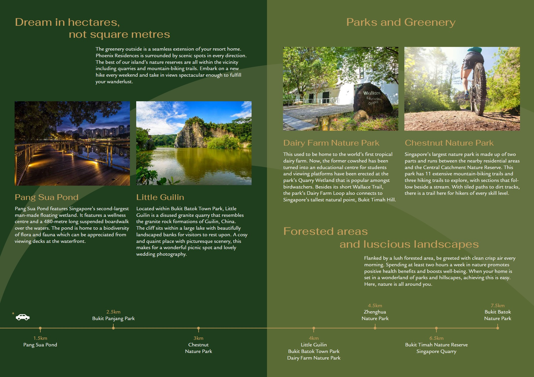 Phoenix Residences location Park & Natural