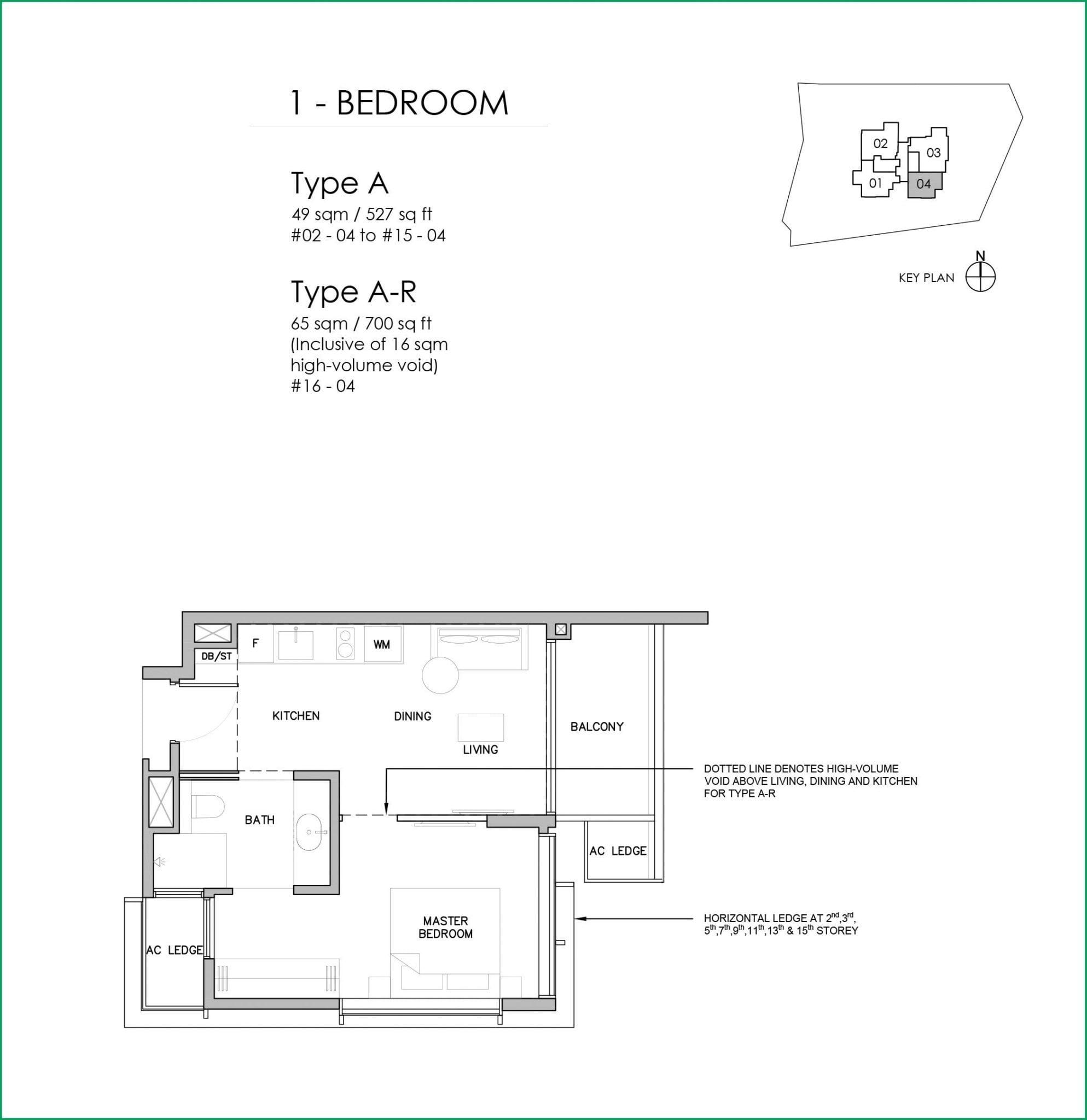 grange-1866-Floor Plan 1BR