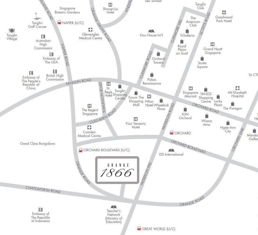 grange-1866-location map
