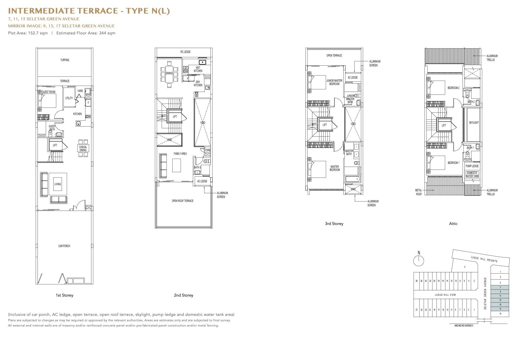 luxus-hills-contemporary - Intermediate Floor Plan 2