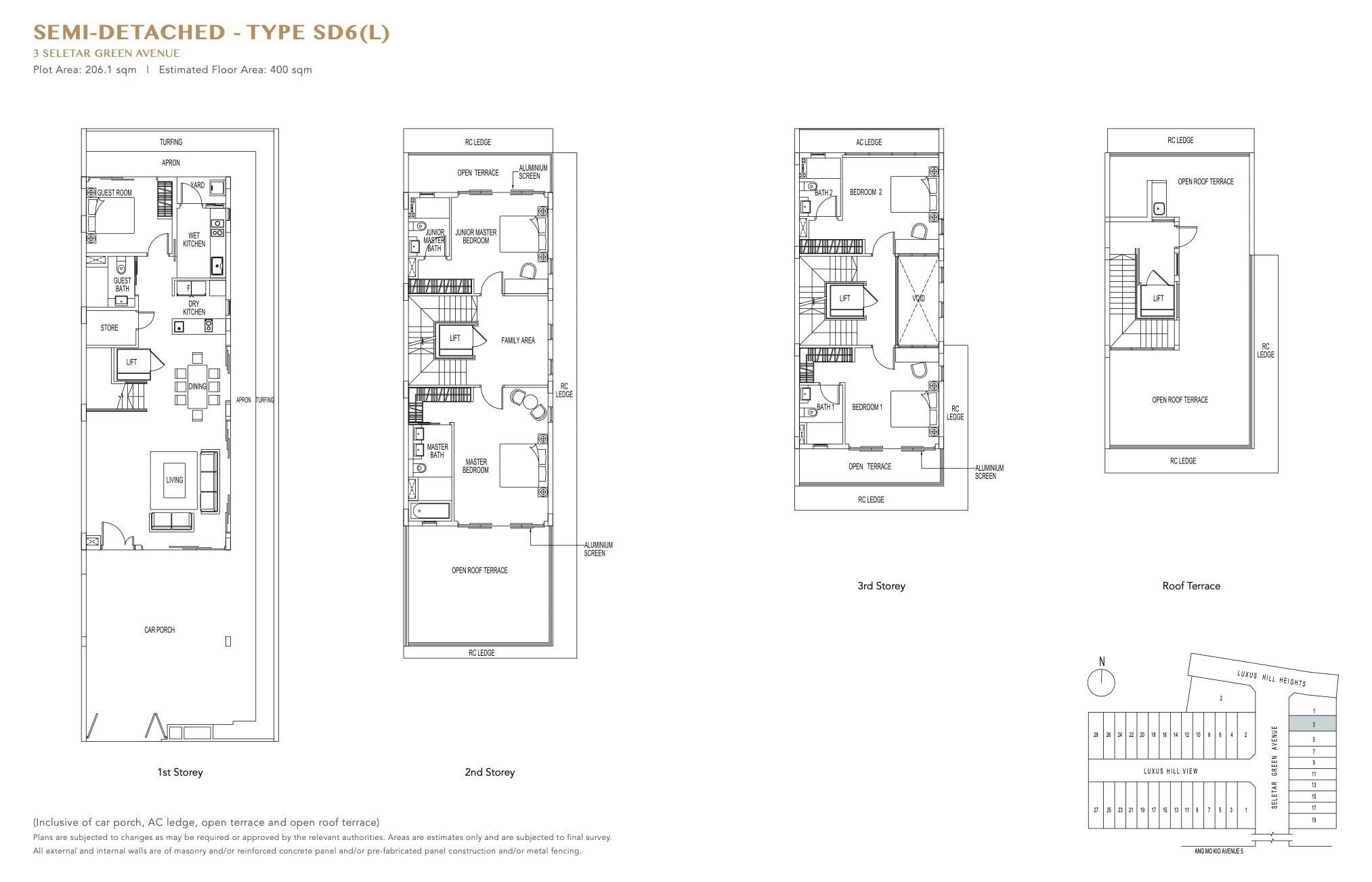 luxus-hills-contemporary - Semi D Floor Plan1