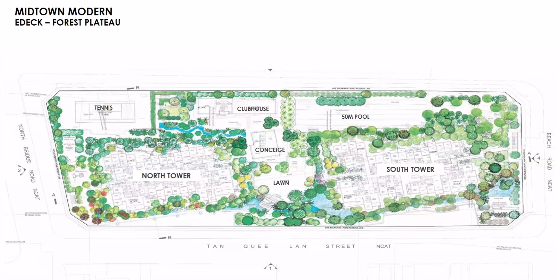 midtown-modern-Site Plan