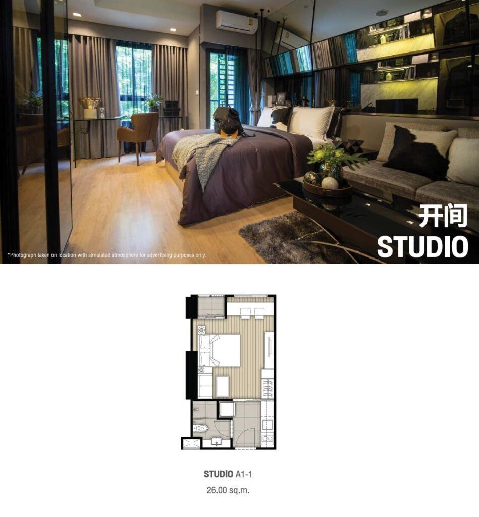 Ideo Rama 9 -Asoke Floor Plan Studio