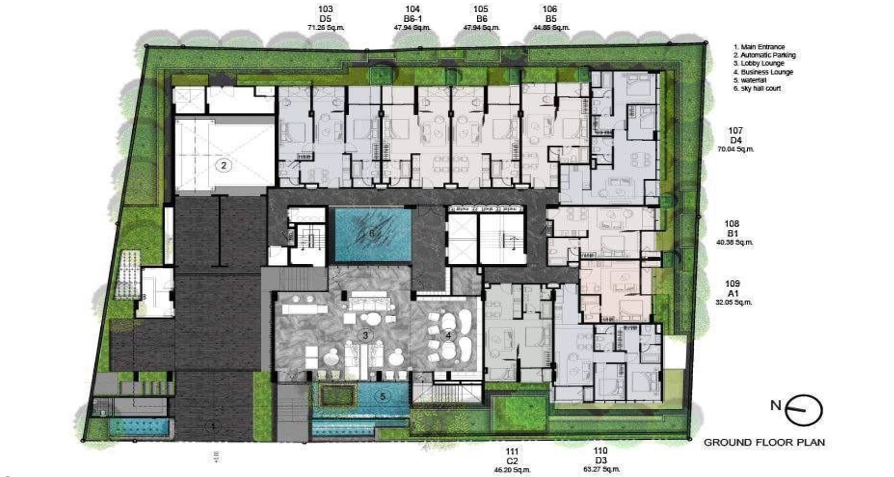 Walden Thonglo 8 - FloorPlan 1st