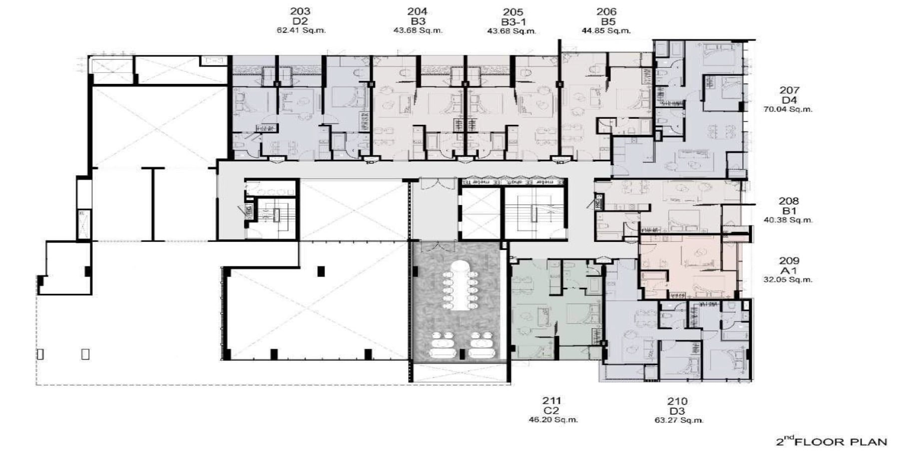 Walden Thonglo 8 - FloorPlan 2nd