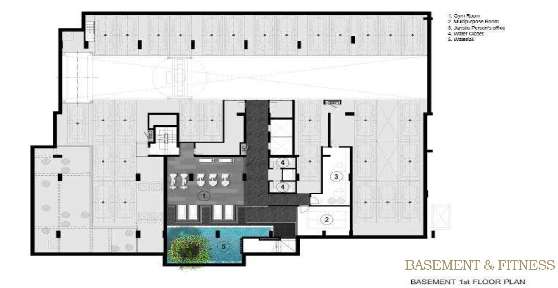 Walden Thonglo 8 - FloorPlan Basement