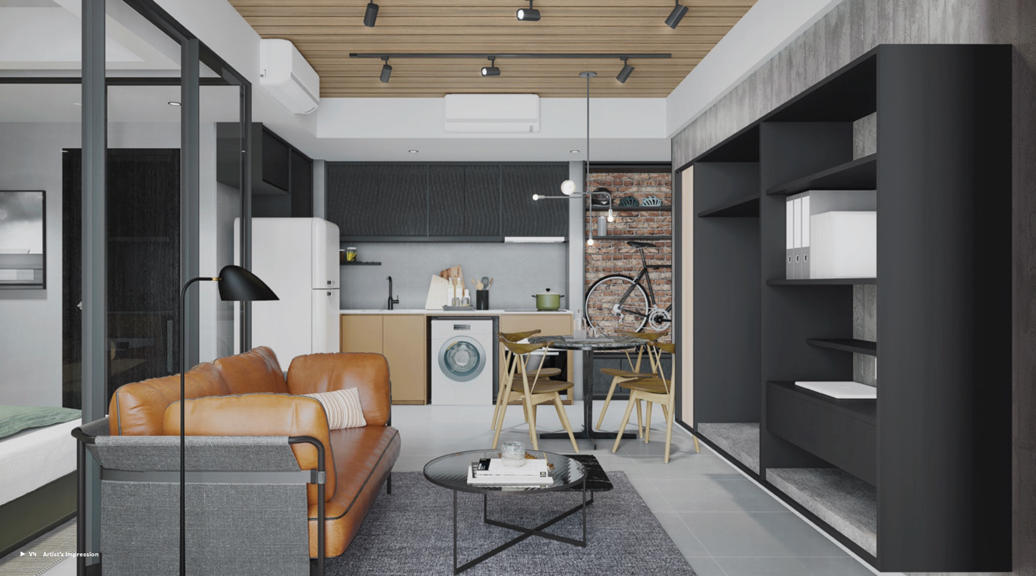 Noma-condo-guillemard-living space