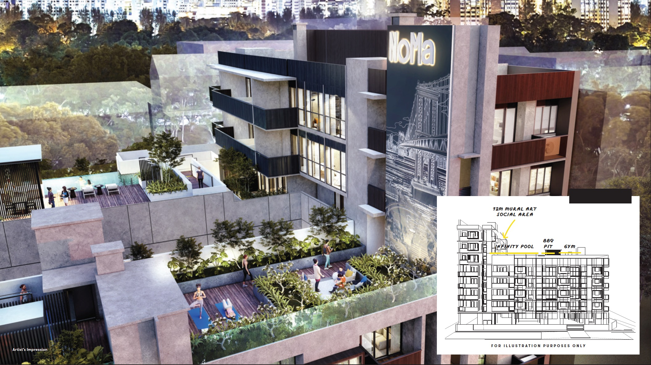 Noma-condo-guillemard-rooftop design