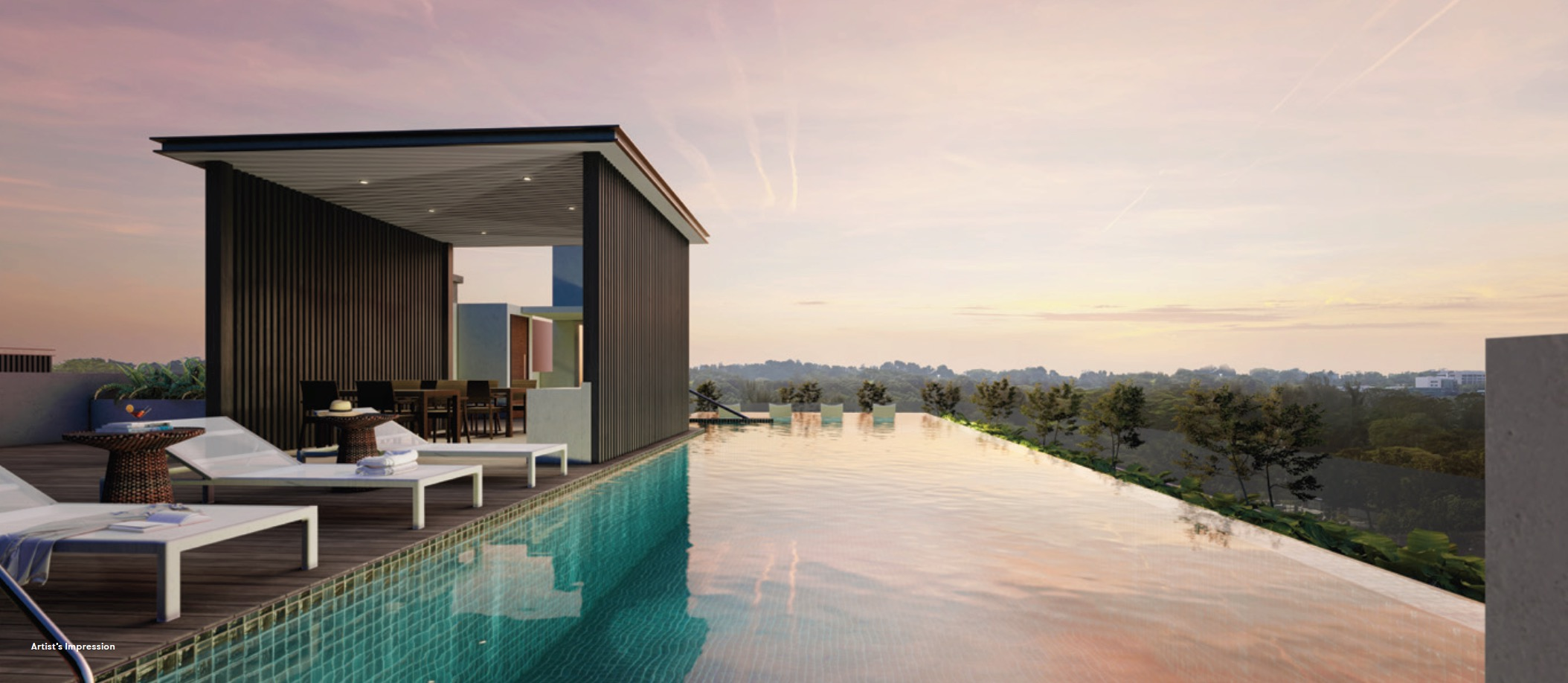 Noma-condo-guillemard-rooftop pool