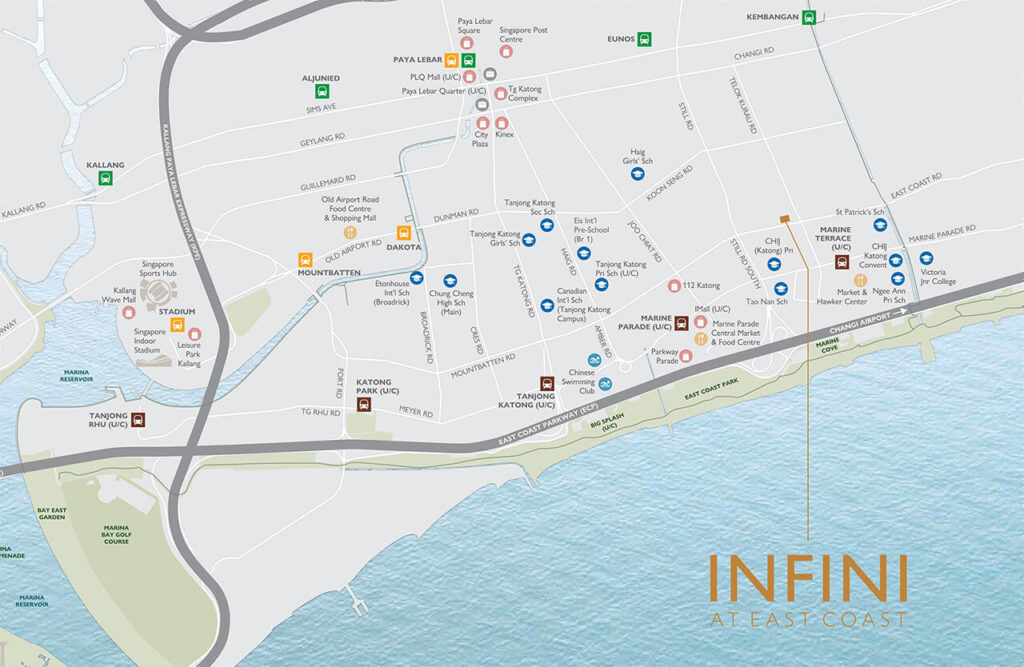Infini-at-east-coast-location-map
