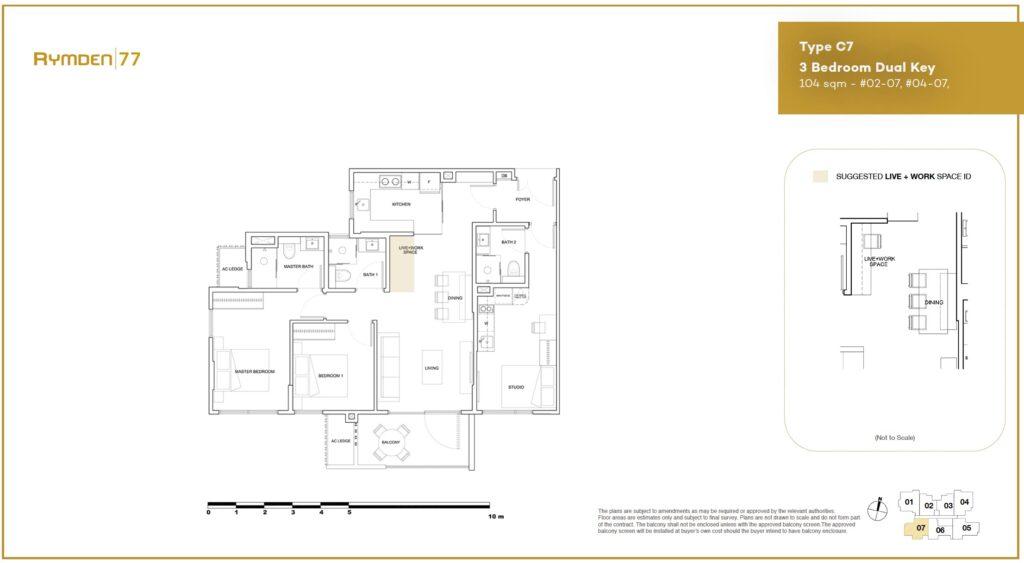 Rymden-77-Floor-Plan-3BR-Dual-Key