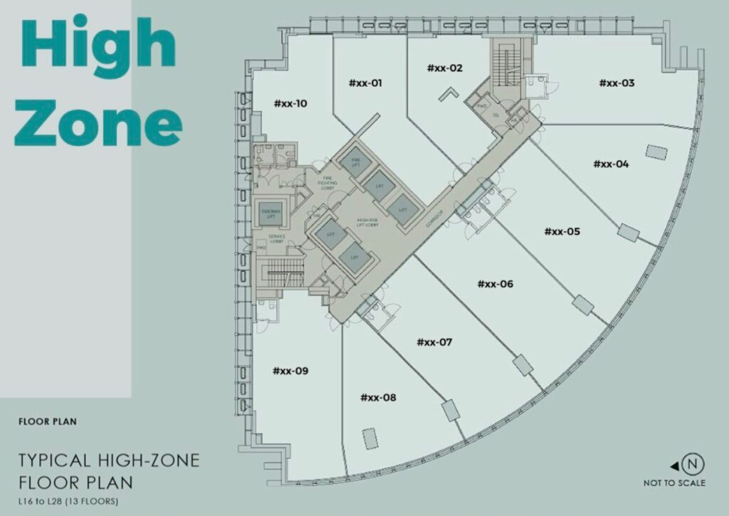 20 Cecil Street Site Plan High Zone