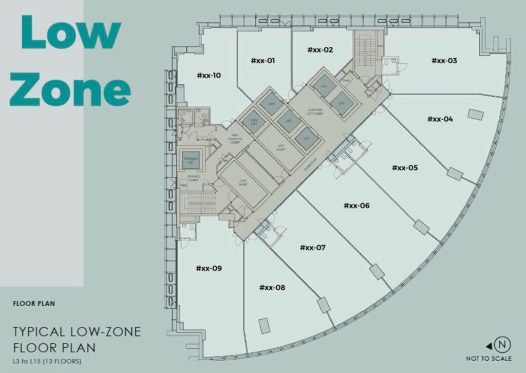 20 Cecil Street Site Plan Low Zone