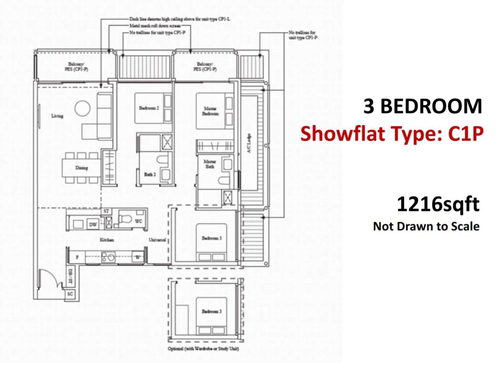 The-Reef-King's-Dock-showflat 3BR