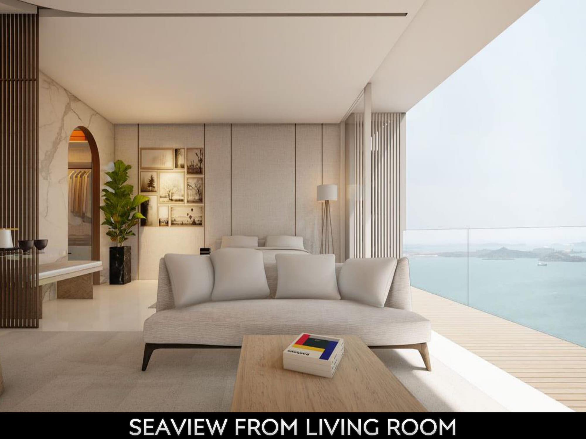 Opus Bay seaview units