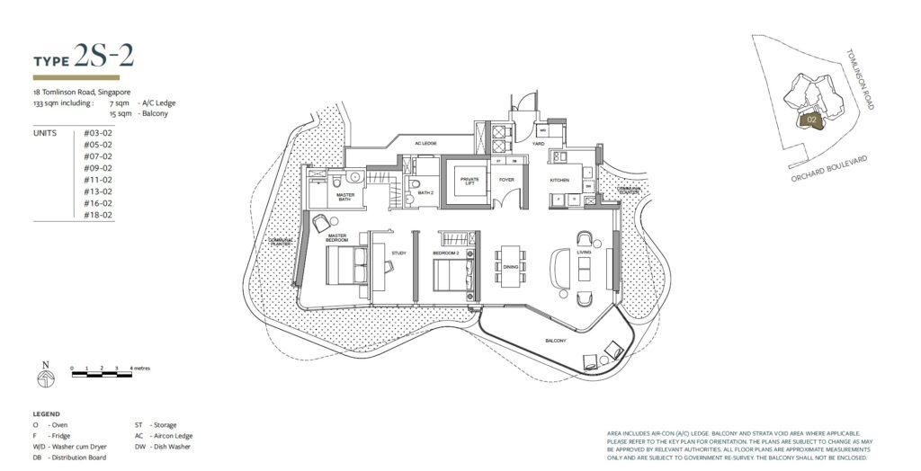 Park Nova floor plan 2S-2