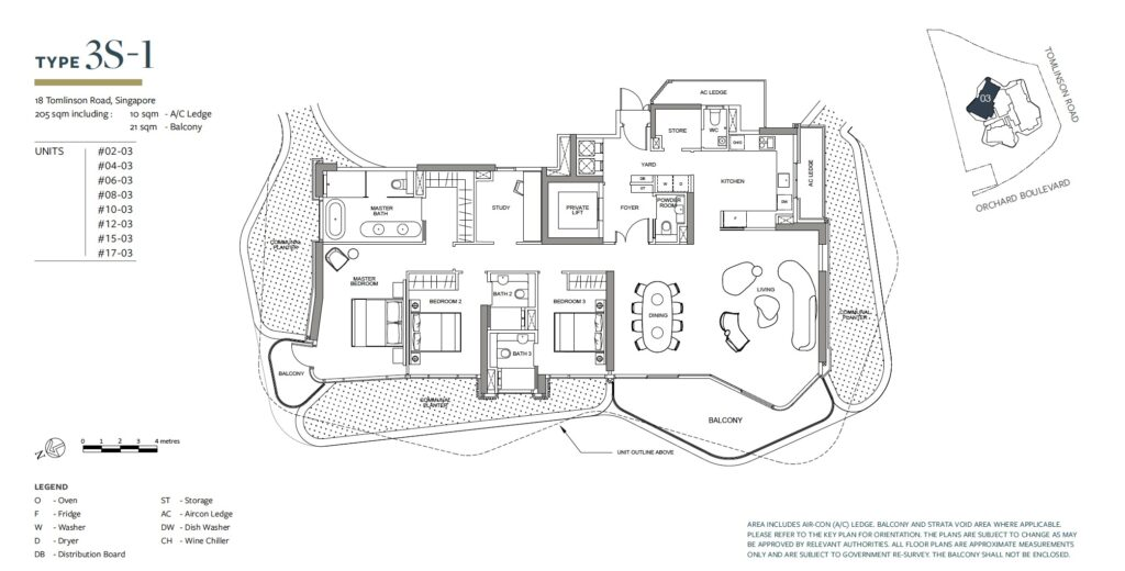Park Nova floor plan 3S-1