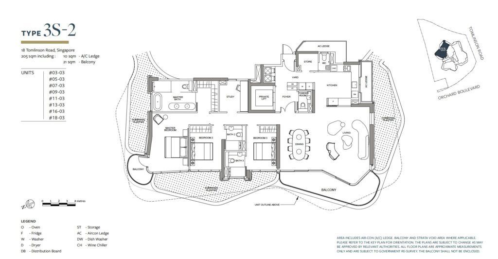 Park Nova floor plan 3S-2