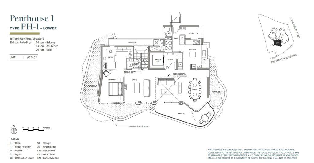 Park Nova floor plan PH-1