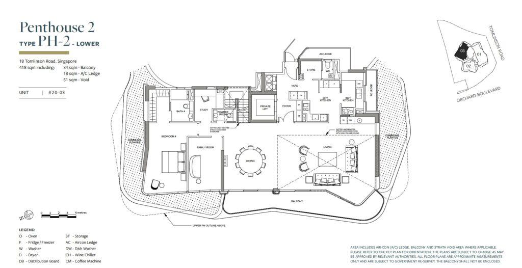 Park Nova floor plan PH-2