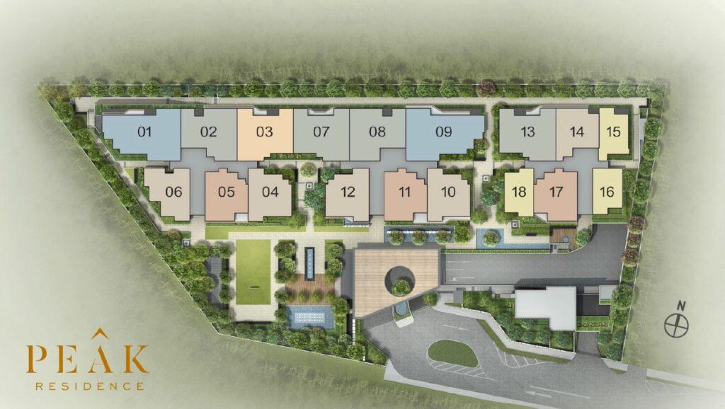 Peak-Residence-Tuan-Sing-Site-Plan-Unit-Type