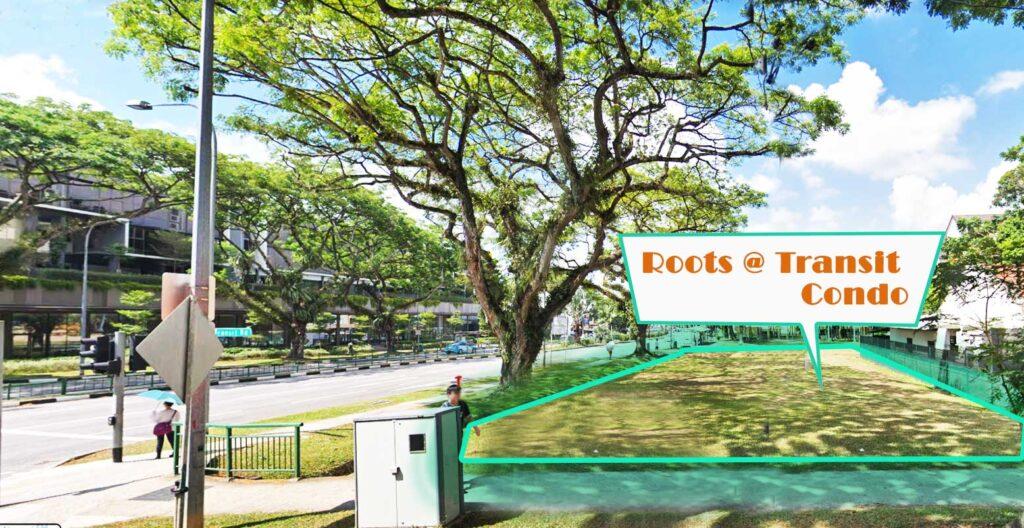 Roots at Transit - Map