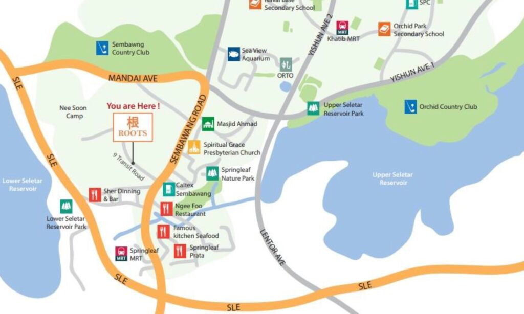 Roots at Transit - Map 2